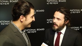 Casey Affleck at the National Board of Review Gala Behind The Velvet Rope