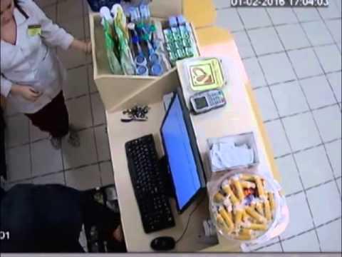Ограбление аптеки в Воронеже