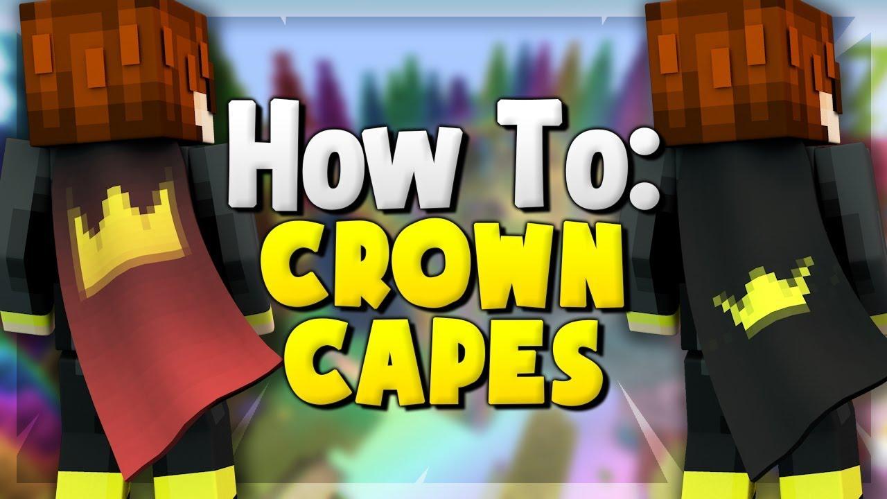 How To: CROWN OPTIFINE CAPE! (Optifine Cape Designs)