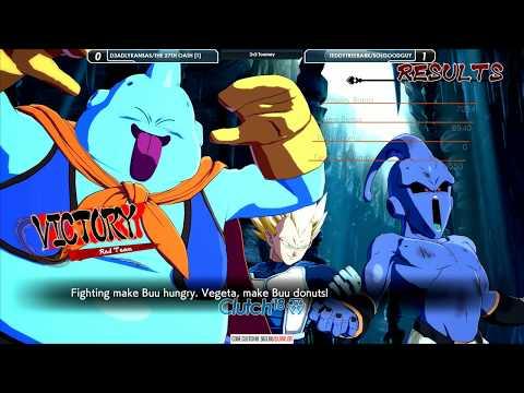 Clutch 2018 - Dragon Ball FighterZ 2v2 Teams - D3adlyKansas/27th Oath vs TeddyTreebark/SolGoodguy