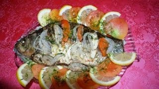Как приготовить рыбу в фольге в духовке.