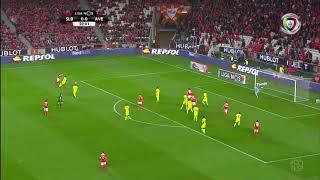 Benfica 2-0 D. Aves (Liga 26ª J): Resumo