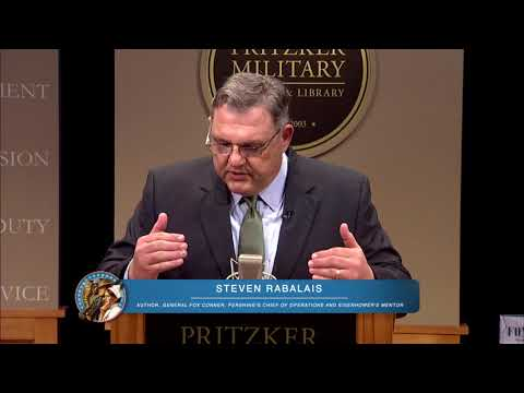Steven Rabalais: General Fox Conner, Pershing's Chief of Operations and Eisenhower's Mentor