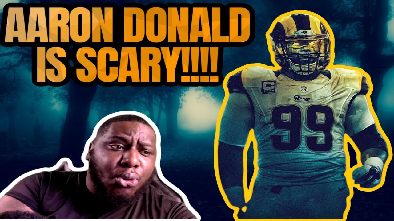 YOU CANT RUN OR PASS ON AARON DONALD!!