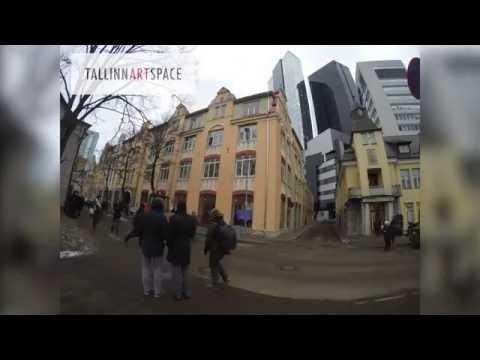 Teerulli aktsioon Tallinn Art Space'i ees (Joonmeedia.ee time-lapse video)