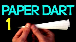 How To Make A Paper Airplane Dart 1