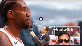 The Race to Report Kawhi's Decision | NBA Desktop | The Ringer