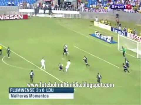 Fluminense 3 x 0 LDU - Sulamerican Cup 2009 - Final