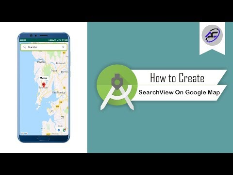 How To Create SearchView On Google Map In Android Studio | SearchViewOnMap | Android Coding