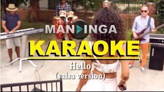 MANDINGA - Hello (Salsa Version) KARAOKE