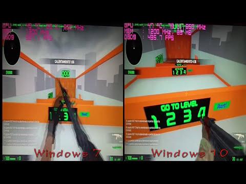 CS:GO (Windows 7 vs Windows 10) Performance Benchmark