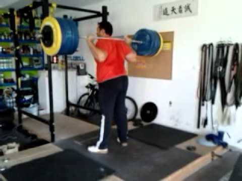 David Wurst Back Squat 180kg