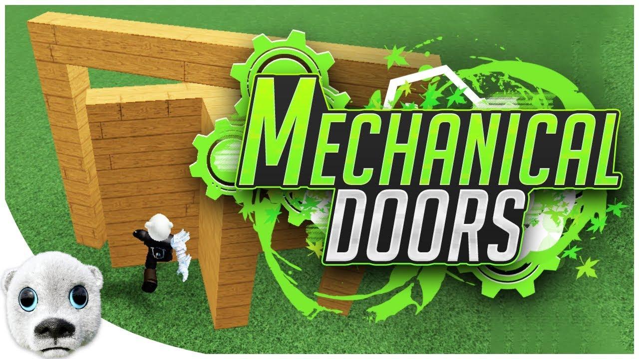 Make Mechanical Doors Using Hinges Build A Boat Roblox