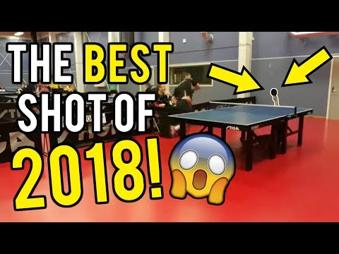 Jay Dylan - The Most Incredible Ping Pong Shot Of All Time
