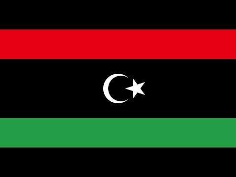 Флаг Ливии.