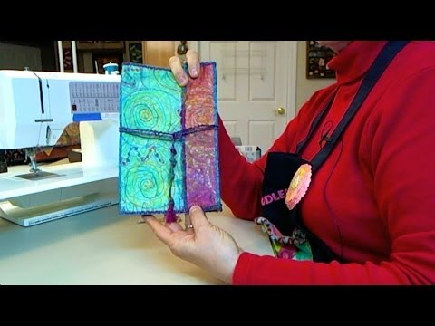 How To Make A Tablet Keeper - HowToGetCreative.com with Barb Owen