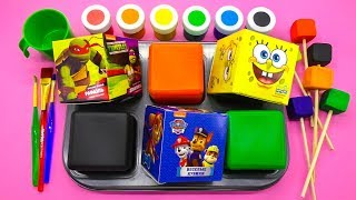 Learn Colors for Children, Toddlers, Baby with Frozen Paint Ball and Toys