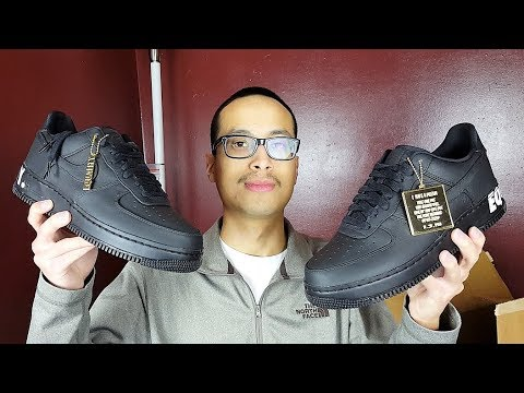 9726f50f026 Surprise Unboxing!!! + Nike Air Force 1 Low CMFT Equality BHM Review ...