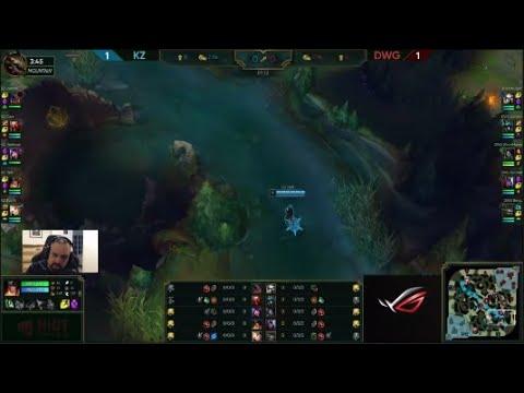 [PapaSmithy VOD Review] LCK Summer 2019 Week 3 Kingzone DragonX vs Damwon  Gaming (Game 3)