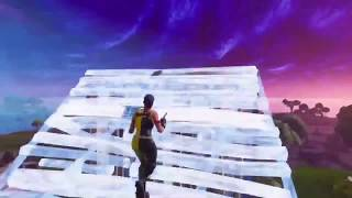 Insane build fight goes to the build limit! Both POV's (Fortnite BR Console building)