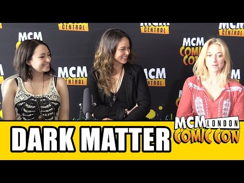 Dark Matter Season 2 Interview - Melissa O'Neil, Jodelle Ferland, Roger Cross & Zoie Palmer