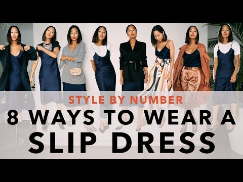 8 Ways To Wear A Slip Dress - Style By Number   Aimee Song. Http://Bit.Ly/2GPkyb3