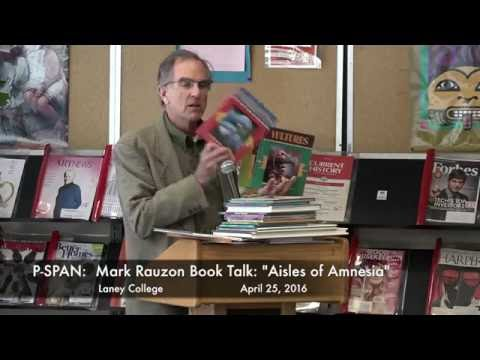P-SPAN #524: Laney College's Mark Rauzon with new book