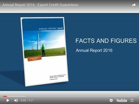 Annual Report 2016   Export Credit Guarantees