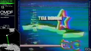 TV DX from South Florida 2: Cuba 1996-2004