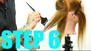 Step 6 - 14 Steps To Becoming A Better Hair Colorist - Hair Painting - Ombre thumbnail