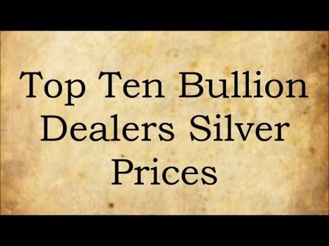 Top Ten Bullion Dealers Silver Prices 10 April 2017