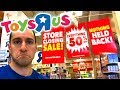 My LAST Time In Toys R Us! - CHEAP DEALS and POKEMON CARDS!