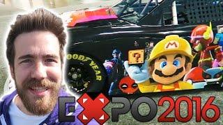 GAMESTOP EXPO 2016 (VLOG)