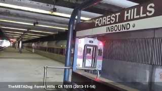 TheMBTADog: MBTA Forest Hills - Orange Line, Commuter Rail, Bus, Casey Overpass