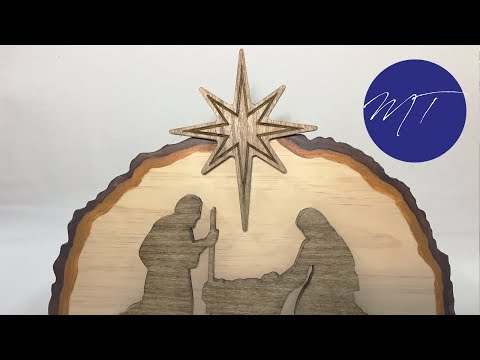 Making a Nativity Scene | Michael Tyler's FREE Project of the Month | Vectric