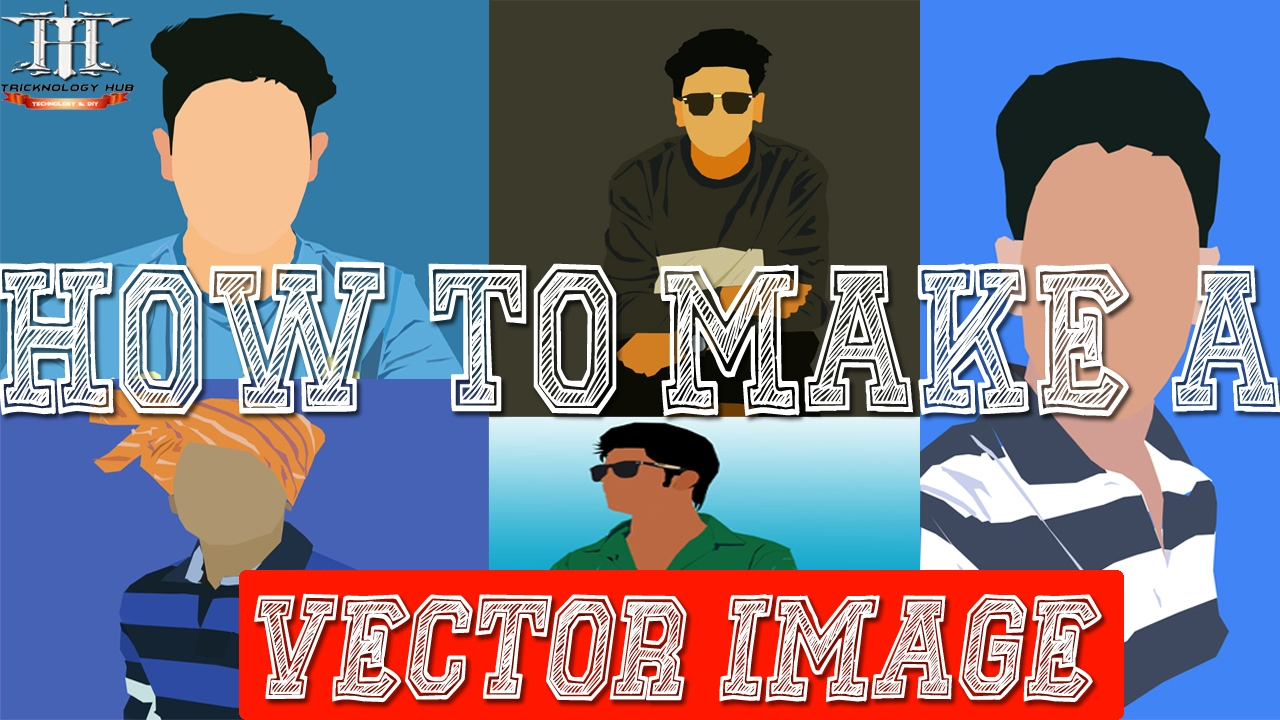 how to make vector images in photoshop