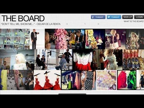 Oscar de la Renta's Social Media Designs