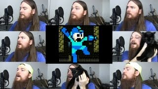 Repeat youtube video Mega Man 2 - Dr. Wily Stage Acapella