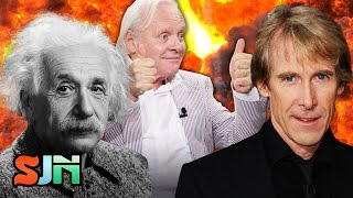 Anthony Hopkins says Michael Bay is Genius... Huh? (Transformers: The Last Knight)
