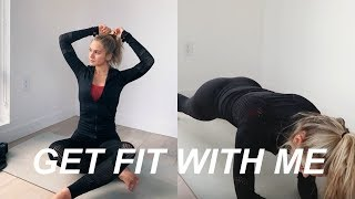 my AT HOME full body workout routine