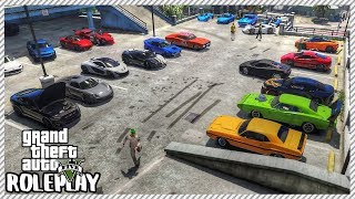 GTA 5 Roleplay - 'HUGE' Car Meet & Finding Out Who Stole my Lamborghini   RedlineRP #92