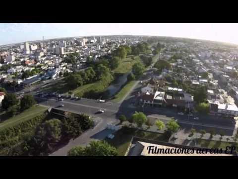 Olavarria desde un drone