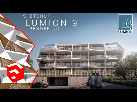LUMION Sketchup Tutorial #2 how to render Ragnitzstraße House in lumion 9