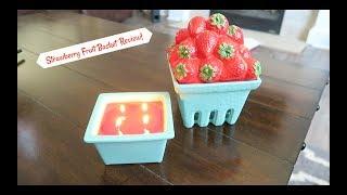 HomeWorx Strawberry Fruit Basket Review!