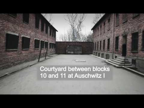 Auschwitz Drone video of Nazi concentration camp