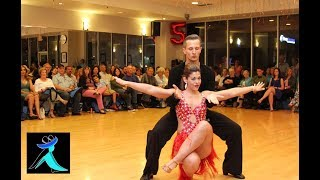 Cha Cha Dance Performance at Ultimate Ballroom Dance Studio in Memphis TN