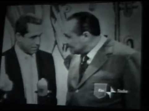 1958 - Perry Como, originario di Palena, al Musichiere - RAI di Mario Riva