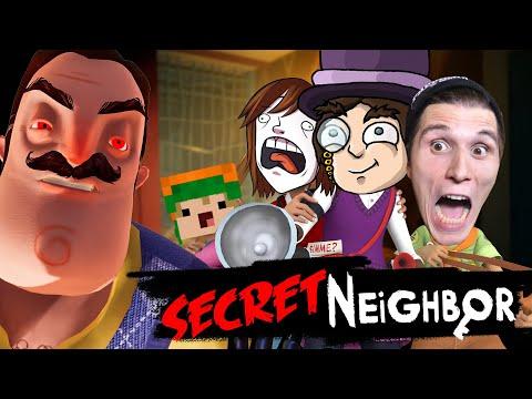 Ich VERWANDEL mich in den NACHBAR ✪ Secret Neighbor (Hello Neighbor MULTIPLAYER)