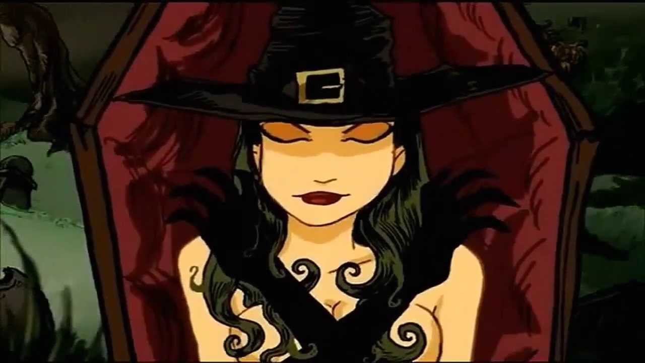 Rob Zombie American Witch Animated Version Youtube