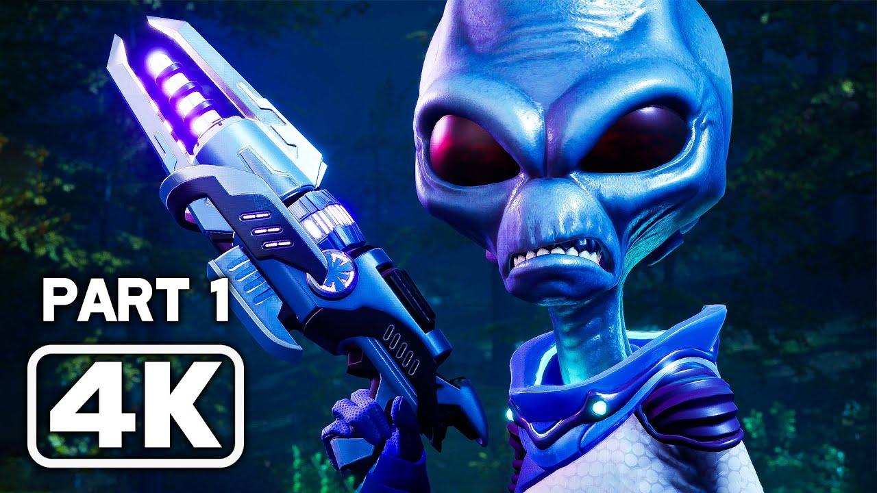 Destroy All Humans! Remake Full Game 4K
